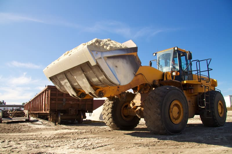 Frac Sand Hauling & Shipping